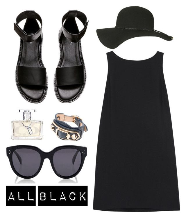 """All black"" by trine-danskgaard-jensen on Polyvore"
