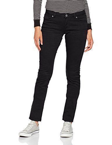nice Q/S designed by - s.Oliver Damen Slim Jeans 45899710414, Schwarz (Black 9999), 42