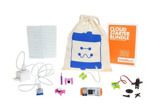 LittleBits sold soon starting @ $99, can make remote pet feeders, doorbell text alerts, etc.  http://blog.designersofthings.com/post/93401677691/the-lego-of-iot-littlebits-coming-to-radio