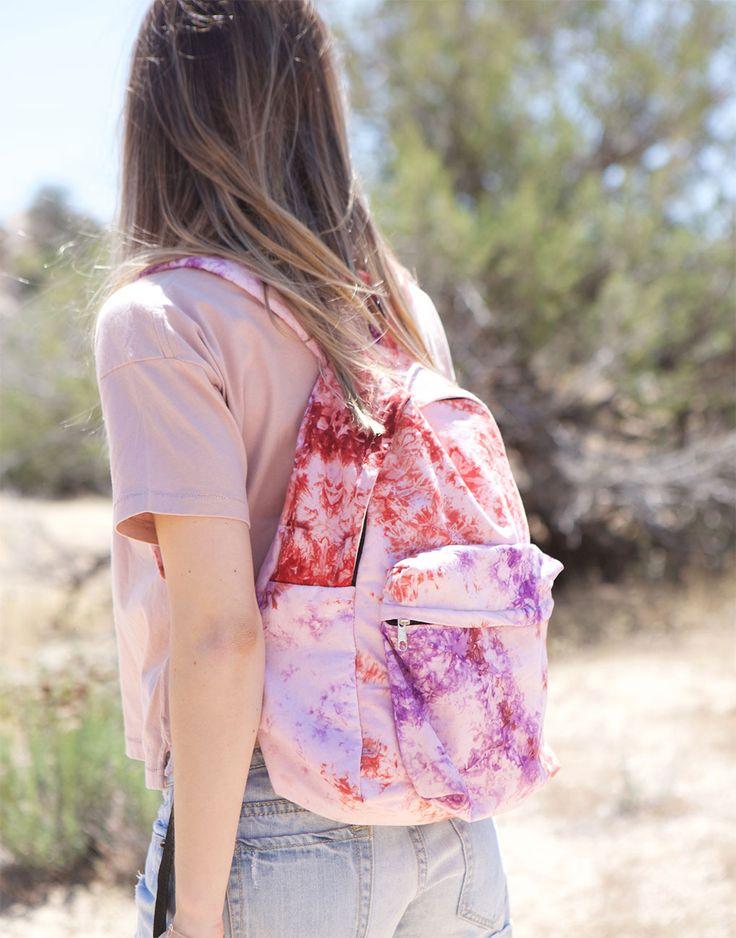 wild flower backpack {The Little Market}
