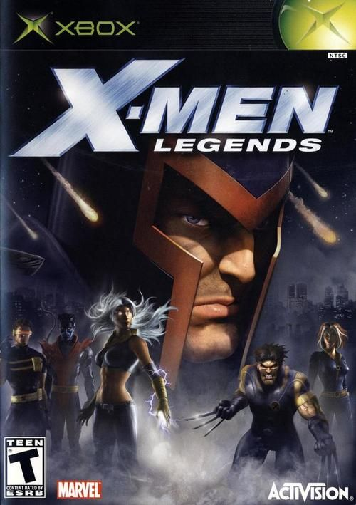 X Men Legends Xbox Game Gamecube Games X Men Playstation 2