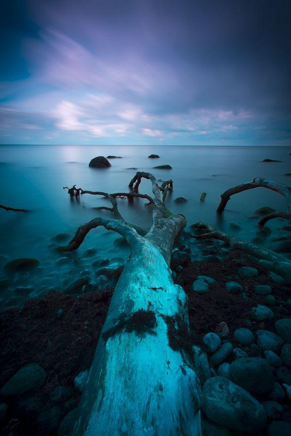 Langzeitaufnahmen von der Ostsee (Rügen)