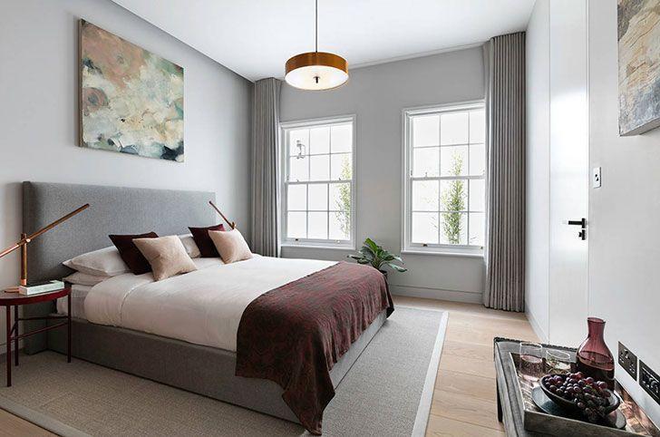 bedroom modern english style interior design style