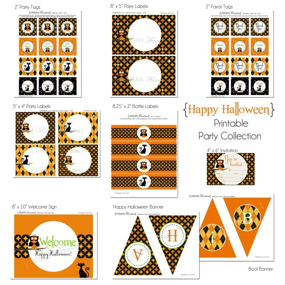 70 best Free Printables images on Pinterest Free printable, Free - free halloween decorations printable
