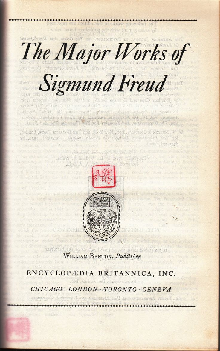 17 best ideas about sigmund freud books sigmund the major works of sigmund freud great books of the western world volume 54