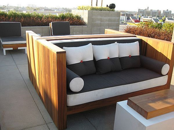 Modern Wood Furniture Plans best 25+ outdoor wood furniture ideas on pinterest | outdoor