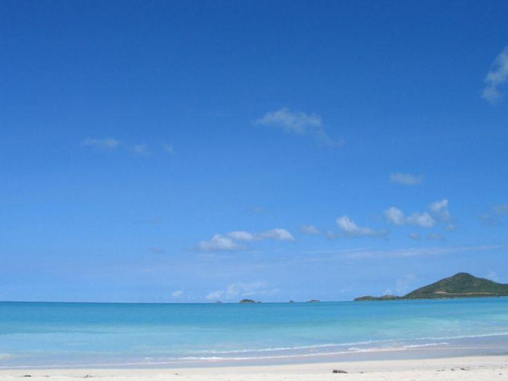 Strand beim Cocobay Resort, Antigua, Kleine Antillen