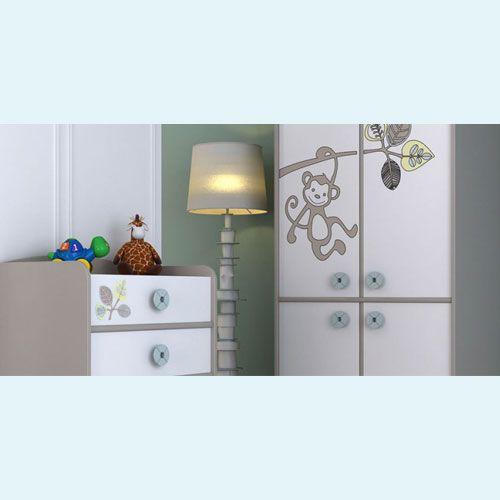 www.bebekdunyasi.com.tr Belis Monkey Bebek Odası Takımı Üretiminde birinci kalite MDF,MDF LAM VE KURŞUNSUZ POLİÜRETAN BOYA kullanılmaktadır. - Renkli tasarımı parlaklığını lake boya ile tamamlamakta, bunun yanında üstün aerodinamik tasarımı ile bebeğinizin rahat edeceği bir sallanma mekanizması sağlamaktadır. - Kurşunsuz Poliüretan Yüksek Kaliteli Boya ile Çocuğunuzun sağlığı tam olarak güvenlik altındadır.