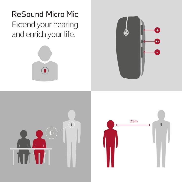 ReSound Micro Mic Extend your hearing and enrich your life.  Visit resound.com/en-AU/hearing-aids/accessories/micro-and-multi-mic