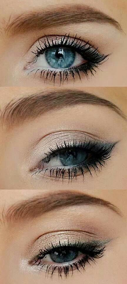 Eyelinner apply secrets, see on http://mymakeupideas.com/how-to-apply-eyeliner-tips-and-ideas/