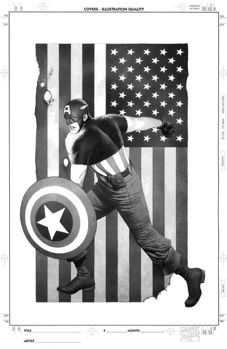 Captain America #616, edição de aniversário de 70 anos do personagem, chegou às bancas americanas em 23/3/2011. A capa é de #TravisCharest. Alguém decidiu que ela ficaria melhor espelhada. Os detalhes na calça do Capitão ficaram sensacionais.