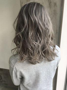 【Liv】お客様snap☆スモーキーアッシュ/ウェーブミディ@HIRO/Liv【リヴ】をご紹介。2017年夏の最新ヘアスタイルを100万点以上掲載!ミディアム、ショート、ボブなど豊富な条件でヘアスタイル・髪型・アレンジをチェック。