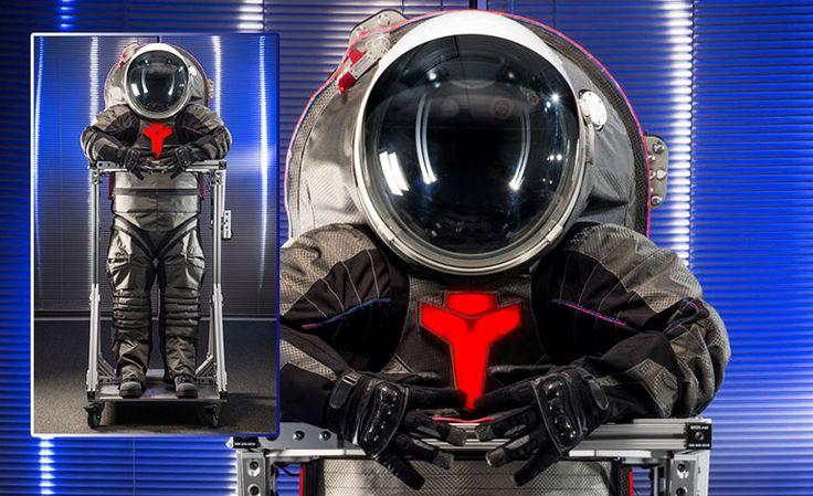 trajes espaciales para viajar a Marte