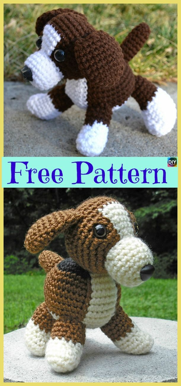 15 Adorable Crochet Puppy Dog Free Patterns Amigurumi Crochet