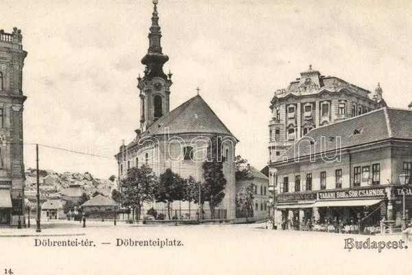 A Döbrentei tér egykori kincsei nyomában - FALANSZTER