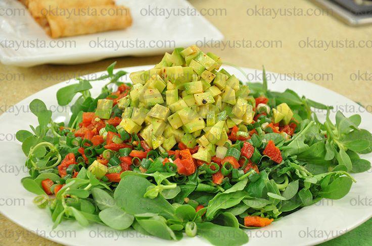 Avakadolu Bahçe Salatası | Oktay Usta [ Resmi Web Sitesi ]