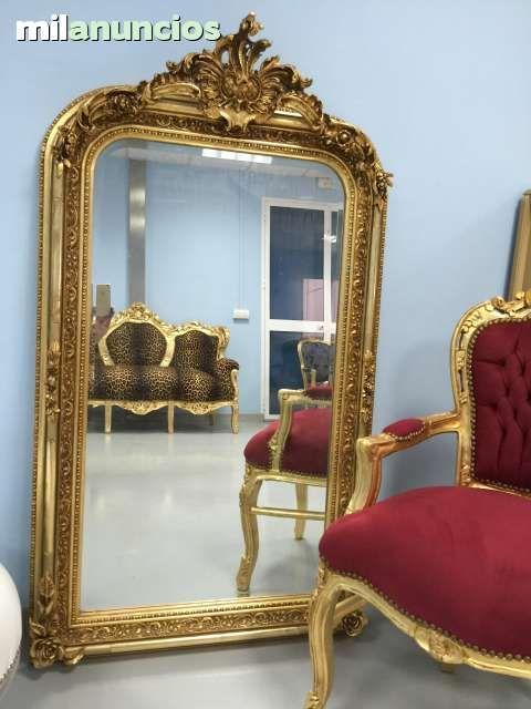 espejos barrocos oro foto
