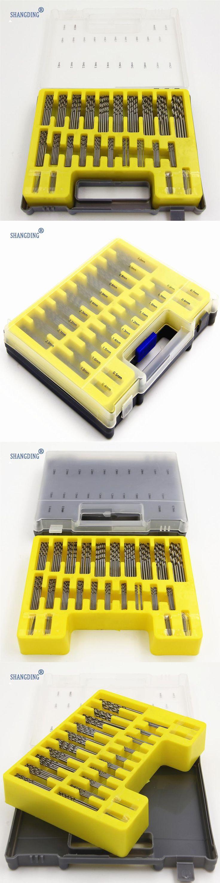 NEW High quality 0.4mm-3.2mm 150Pcs set  Mini twist drill Bit Kit HSS Micro Precision Twist Drill with Carry Case Drilling Tool