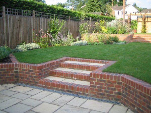 43 Creative Garden Design Ideas Sloping Gardens Pelaburemasperak Com Sloped Garden Garden Design Patio Garden