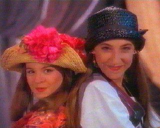 Six and Blossom! Those hats... Yikes.