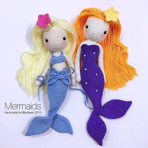 Free Amigurumi Mermaid Patterns : 17 Best ideas about Mermaids Pattern on Pinterest ...
