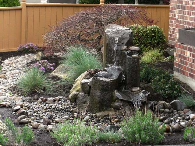 90 best images about garcia residence on pinterest for Rock garden waterfall