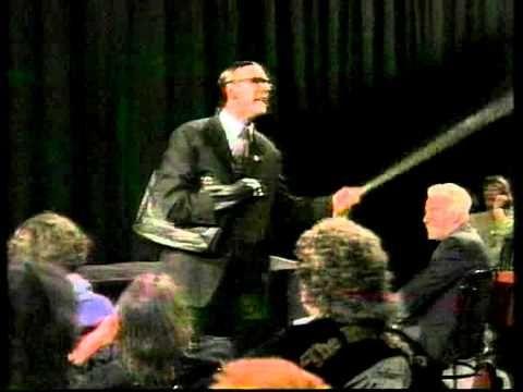 Georg Schramm, ein früher Auftritt ca. 1989/90, Satirefest