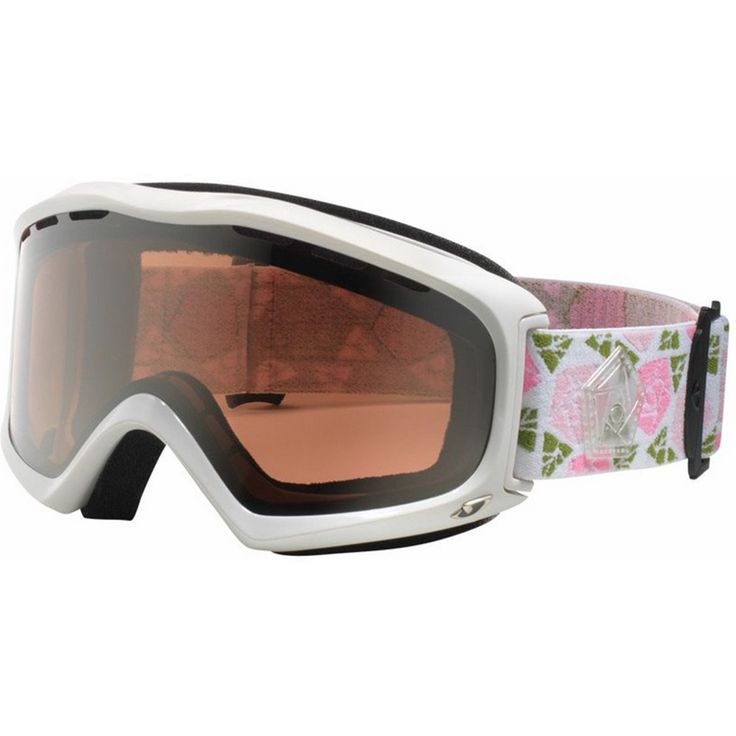 Masque de ski Giro Signal Gloss White Roses Pink Silver 2015