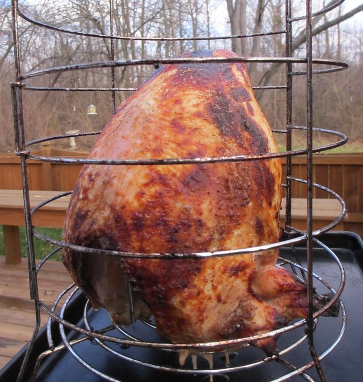 Cajun-Injected Spicy Turkey Breast on the Big Easy