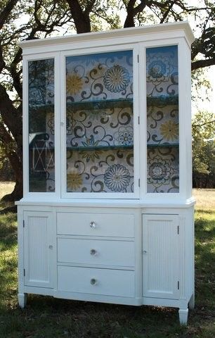 Modern Cottage Style China Cabinet $775 - Austin http://furnishly.com/catalog/product/view/id/4244/s/modern-cottage-style-china-cabinet/