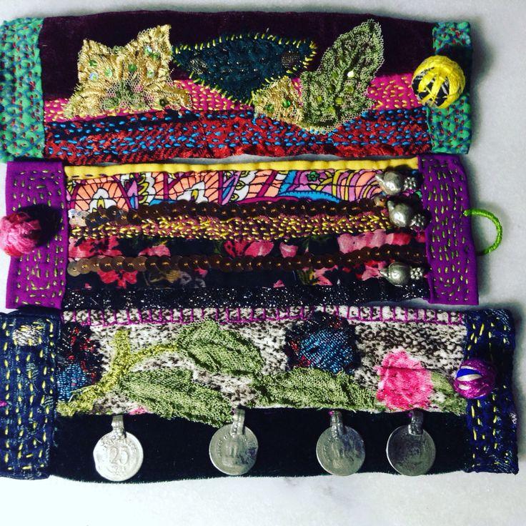 Bracelet textile colors