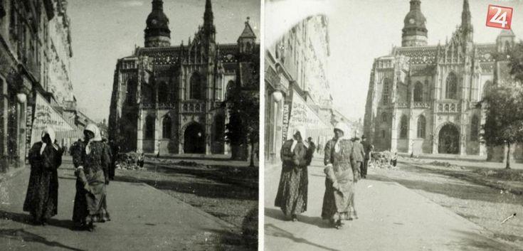 V obrazoch: Vzácne viac ako 100-ročné fotografie Košíc   Košice24.sk