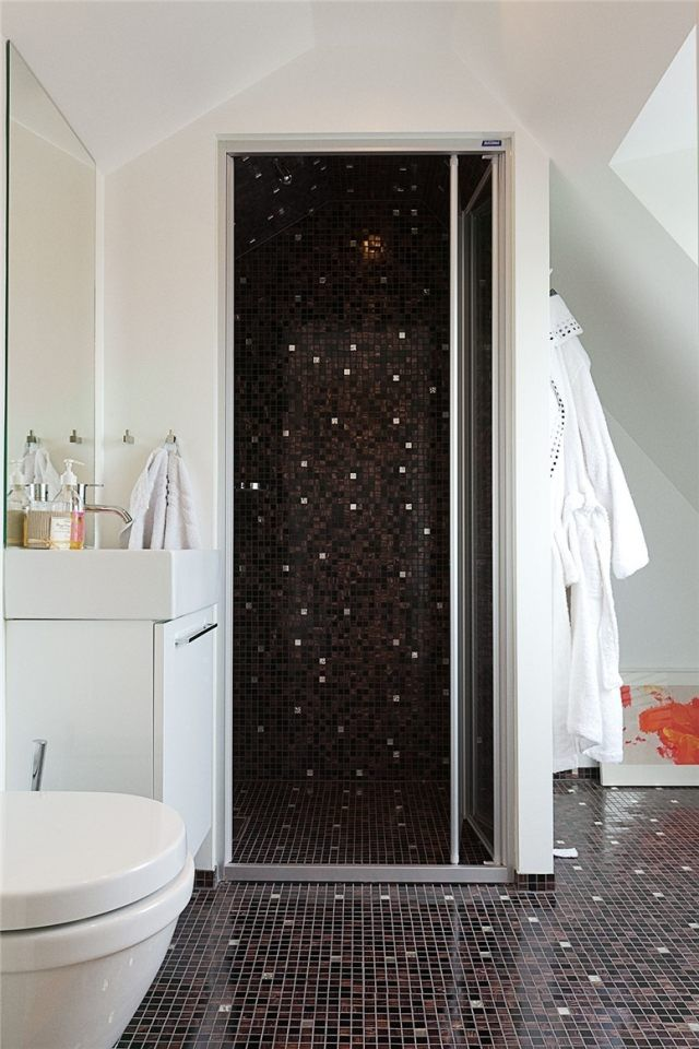 26 best Salle de bain images on Pinterest Bathroom, Bathroom - carrelage marron salle de bain