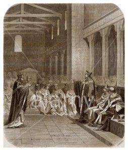 Leudaste et Gregoire de Tours, concile - CHILPERIC 1- 2.8 ANNEES DE PAIX. 2.8.3…