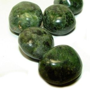 Jade – love, healing, money, protection, balances emotions, brings peace, stone of luck, prosperity and friendship, enhances dreams, knowledge, wisdom, courage
