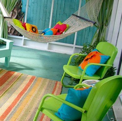 renkli balkon ve bahce mobilyalari 2