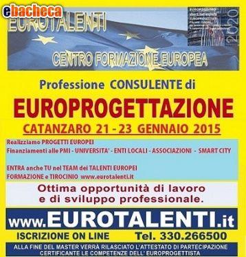 Corso europrogettazione - Cosenzainnovative prospettive  professionali con le competenze dell' europrogettista.   https://www.eurotalenti.it    LAVORA SUBITO CON I FINANZIAMENTI EUROPEI Opportunità occupazionale e di sviluppo professionale  RIPARTI CON UNA COMPETENZA INNOVATIVA  Diventa esperto EUROPROGETTISTA  https://www.eurotalenti.it    Esprimi il tuo #TALENTO realizzando #progetti europei www.eurotalenti.it Entra nel TEAM DI EURO-PROGETTISTI IN UN LAVORO CHE PREMIA I TALENTI