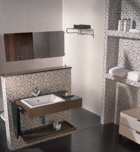 Bathroom Tiles Mosaic bathroom mosaic tile designs - destroybmx