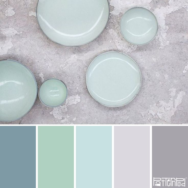 Minted! #Farbpalette #Farbinspiration