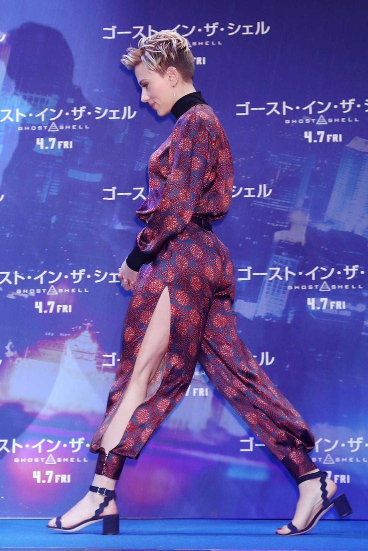 Scarlett Johansson - 'Ghost In The Shell' Press Conference in Tokyo, Japan on March 17 — Celebrity Hive