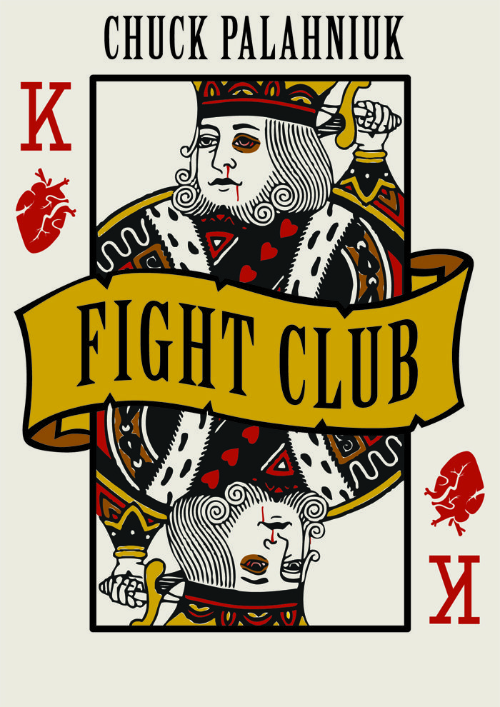 James Schollum Fight Club book cover