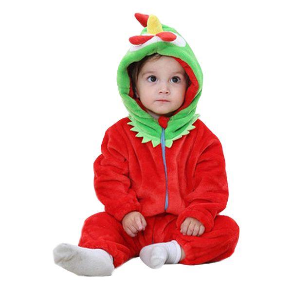 Baby Chicken Costume Plush Jumpsuit