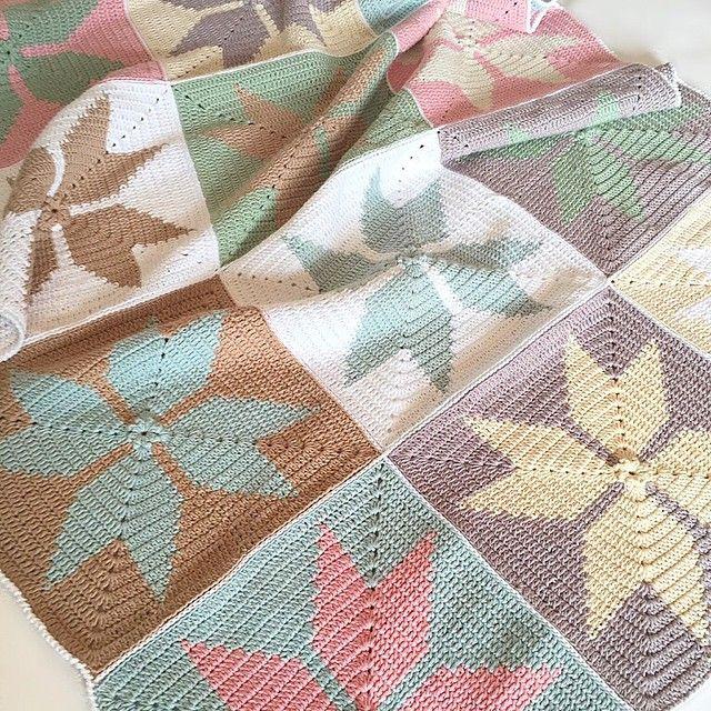 Delightfully uncommon crochet squares...