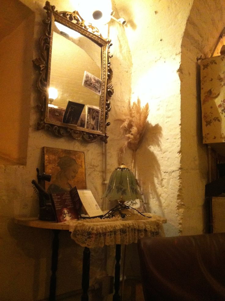 Detail from the 'Sala del The' Tea shop, Forte Prenestino, Rome, Italy,