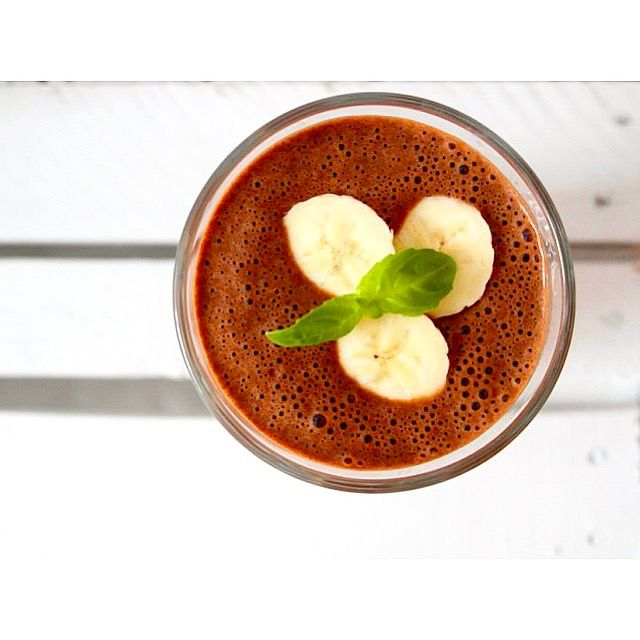 Dziś coś kakaowego i pysznego 🍌🍫  --> Zapraszam na moją stronę na fb https://m.facebook.com/eatdrinklooklove/ ❤   . .  Today something cocoa and delicious 🍌🍫 --> I invite you to my page on fb https://m.facebook.com/eatdrinklooklove/ ❤