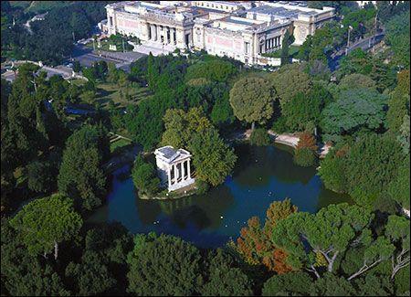 Villa Borghese Park Rome Pinterest Gardens Rome