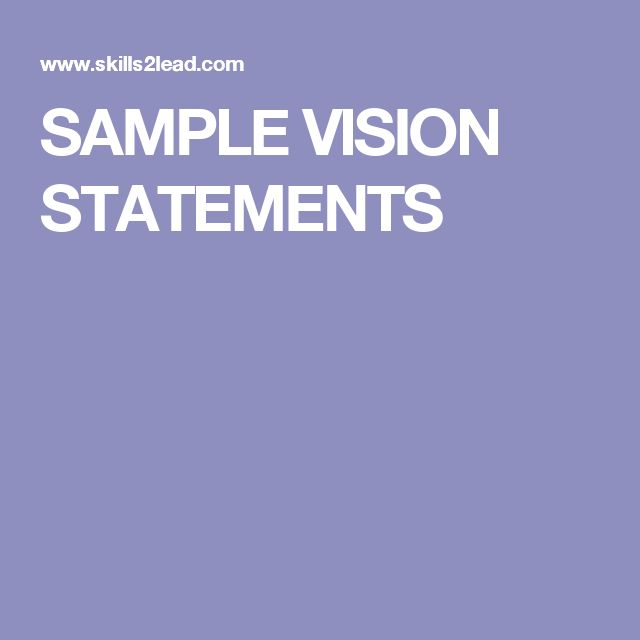 Best  Vision Statement Ideas On   Business Mission