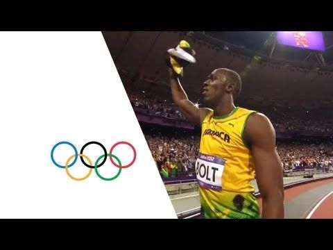 Usain Bolt Wins Olympic 100m Gold - London 2012 Olympics - YouTube