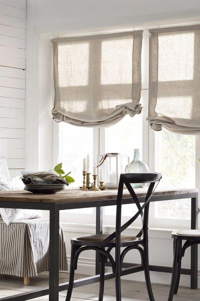Льняные шторы: природная элегантность и экологичность   Colors.life