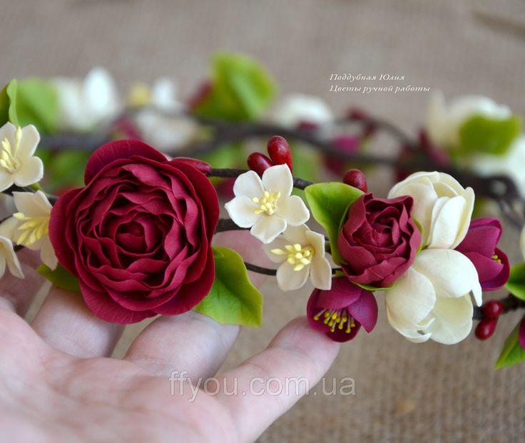 """Венок с цветами """"Стефания"""": продажа, цена в Киеве. венки на голову от """"Flowers for You"""" - 46777219"""
